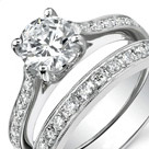 custom engagement ring set st louis park mn