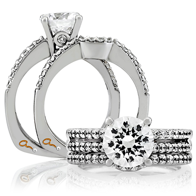 custom diamond wedding set golden valley mn